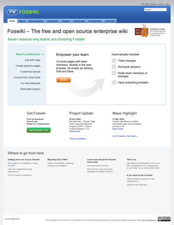 Foswiki homepage6.png